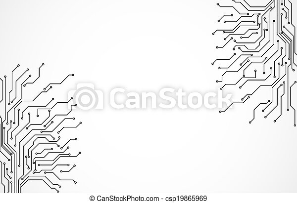 Circuit board background texture clip art vector - Search Drawings ...