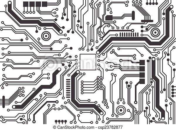 circuit board background texture - csp23782877