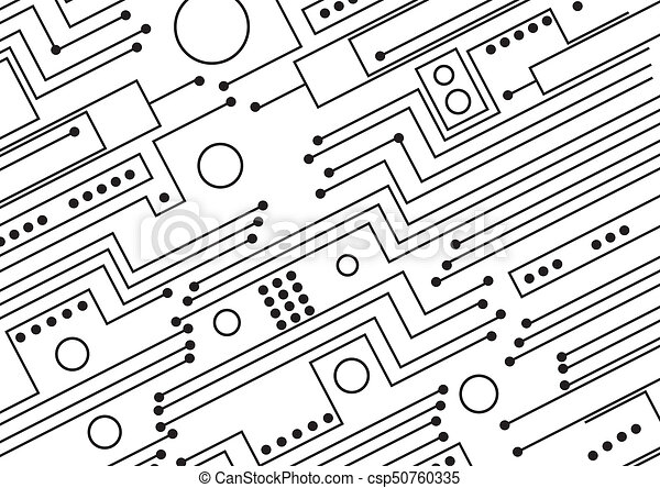 Circuit board drawings - Search Clipart, Illustration, and EPS ...