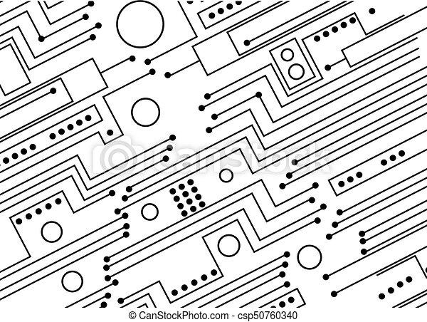 circuit board rh canstockphoto com circuit board vector graphics circuit board vector pattern