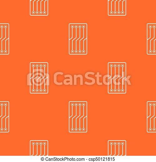 Circuit board pattern seamless. Circuit board pattern repeat ...