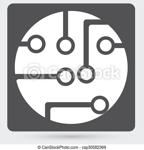 Circuit board, technology icon - csp30582369