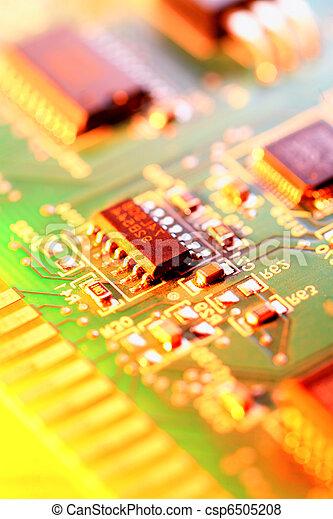 circuit, résumé, planche, fond - csp6505208