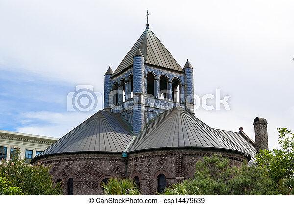 Circular Church in Charleston - csp14479639