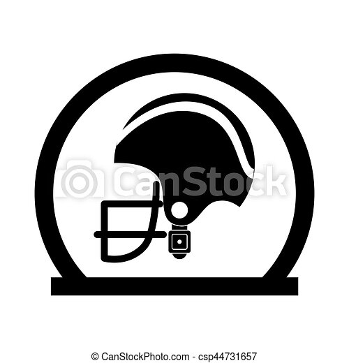 circular frame with side view american football helmet clipart rh canstockphoto com
