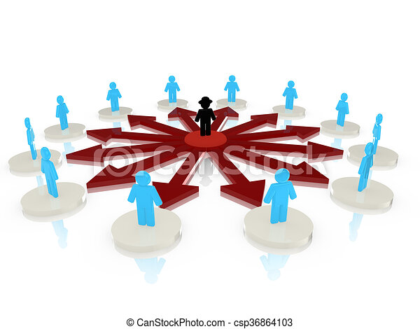 circular hacker network