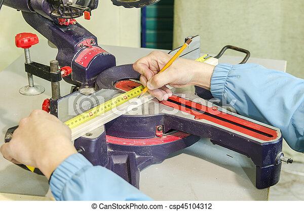 Circular saw for furniture manufacturing - csp45104312
