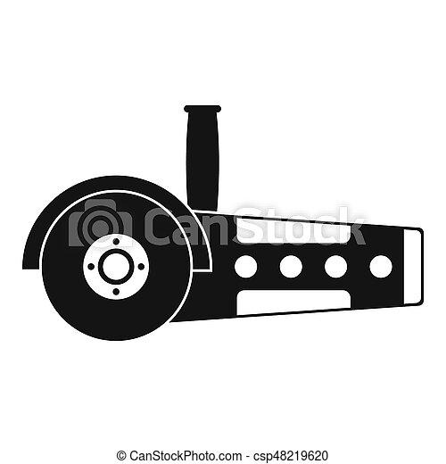 Circular saw icon simple - csp48219620