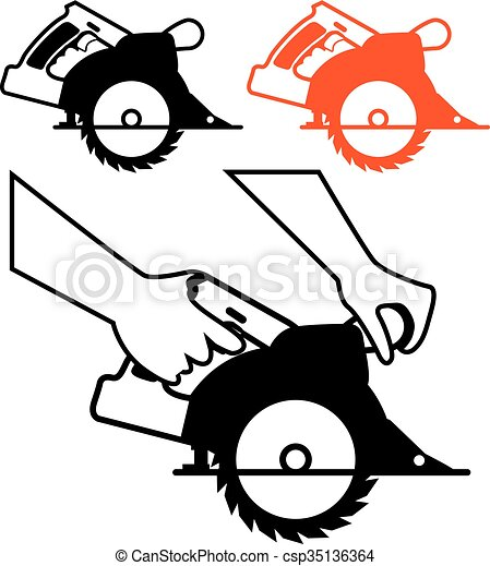 circular saw single color icon rh canstockphoto com saw clipart png saw clipart gif