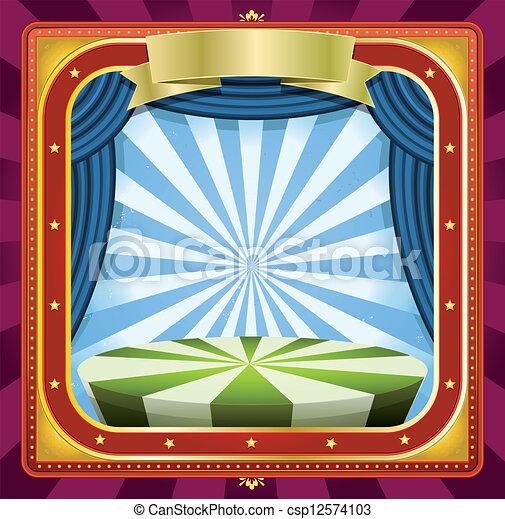 Circus Background - csp12574103