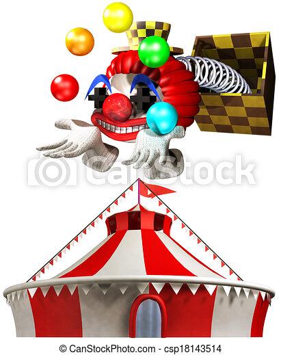 Circus - csp18143514