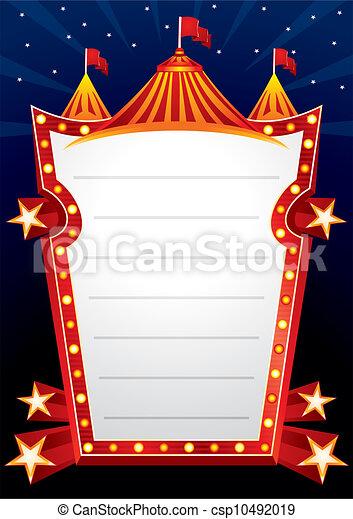 Circus design - csp10492019