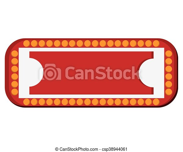 circus sign icon - csp38944061