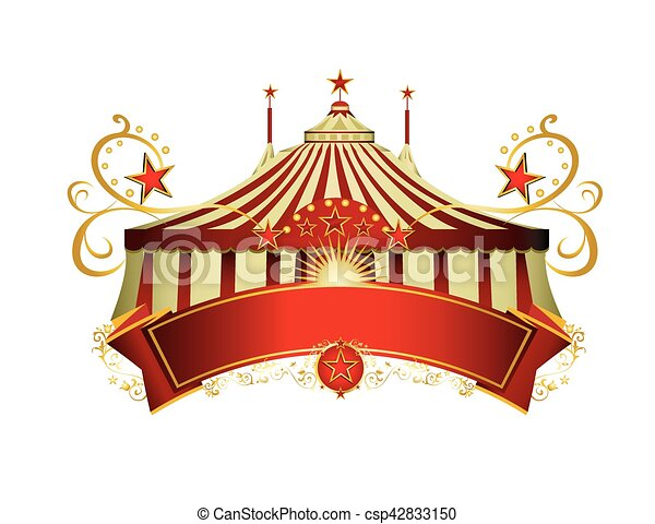 Circus signboard - csp42833150