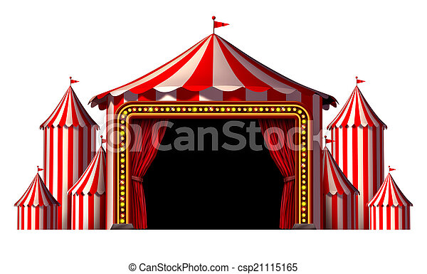 Circus Stage - csp21115165