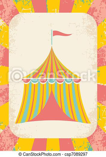 circus tent - csp7089297