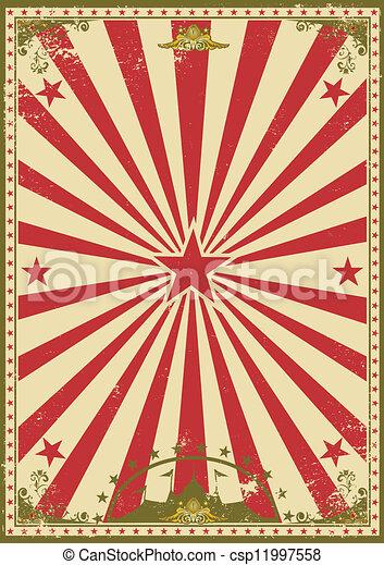 Circus vintage - csp11997558