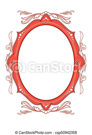 Circus vintage frame. Holiday template for design banner, ticket ...