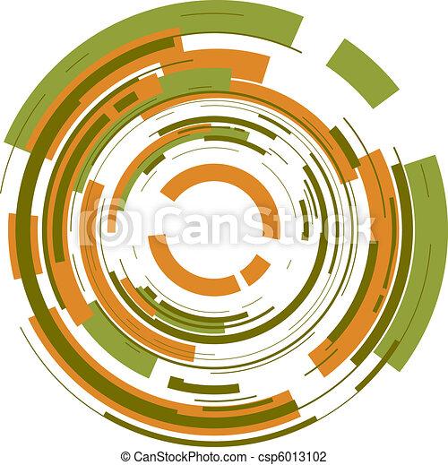 cirkel, achtergrond - csp6013102
