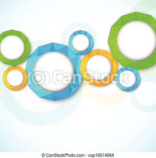 cirkels, abstract, achtergrond - csp16514064