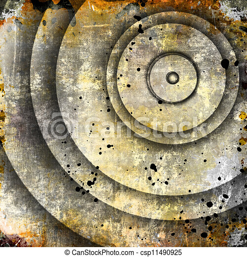 cirkels, abstract, achtergrond - csp11490925
