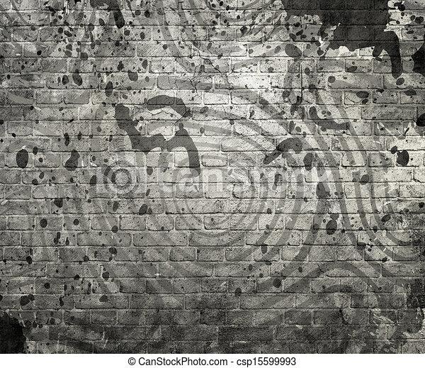 cirkels, abstract, achtergrond - csp15599993