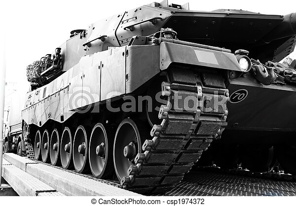 cistern, bepansrad fordon - csp1974372