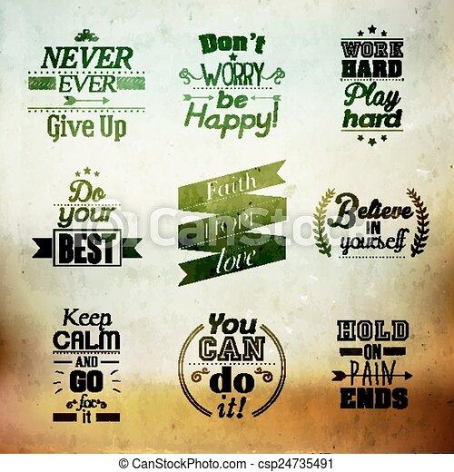 citação, encorajando, inspirational - csp24735491