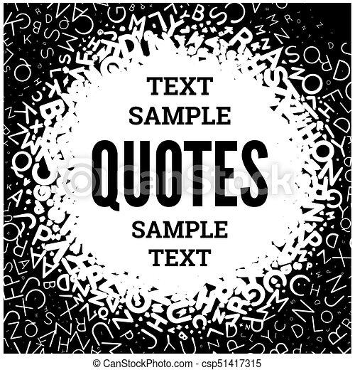 citation, blanc, vide, gabarit, arrière-plan. - csp51417315