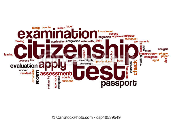 Citizenship test word cloud concept drawing search clip art citizenship test word cloud stock illustration sciox Image collections