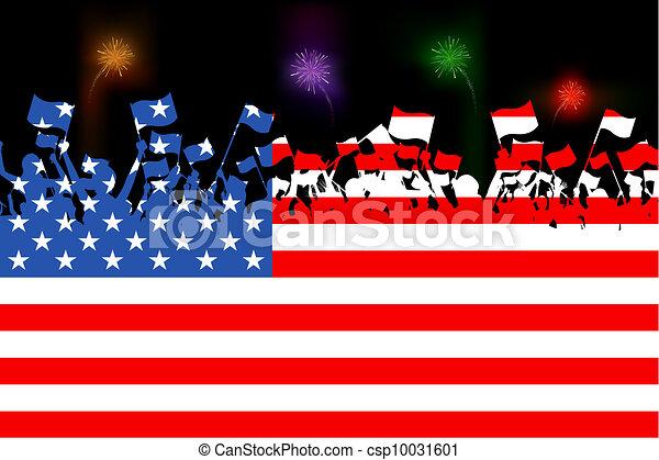 citoyen américain - csp10031601