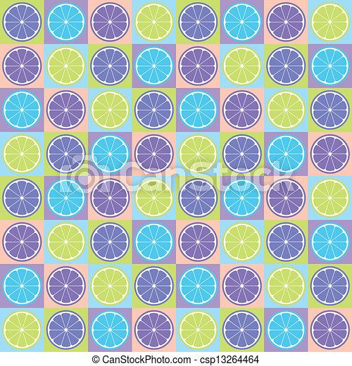 citrus, modèle, seamless - csp13264464