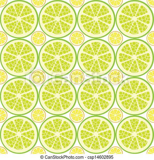 citrus, modèle, seamless - csp14602895
