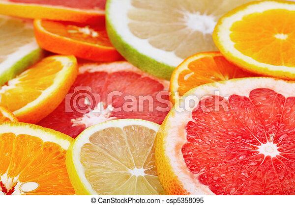 citrusvruchten - csp5358095