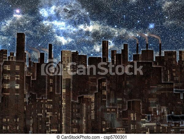 città, futuro - csp5700301