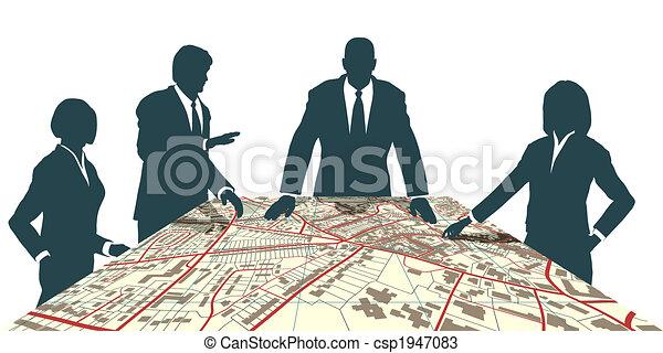 città, pianificatori - csp1947083