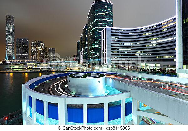 City at night - csp8115065