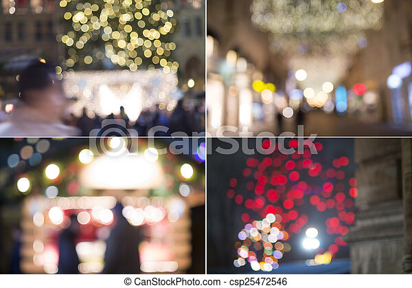 City at night - csp25472546