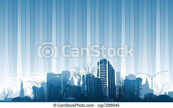 City background - csp7288945