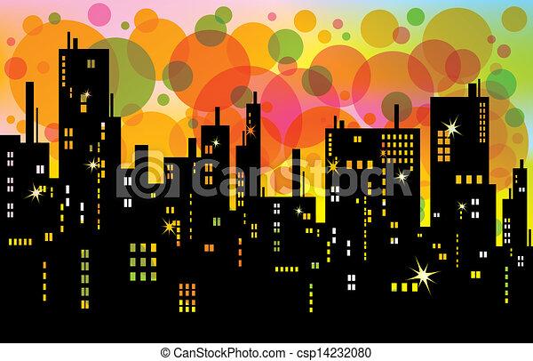 City Background  - csp14232080
