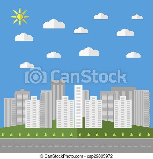 City Background - csp29805972