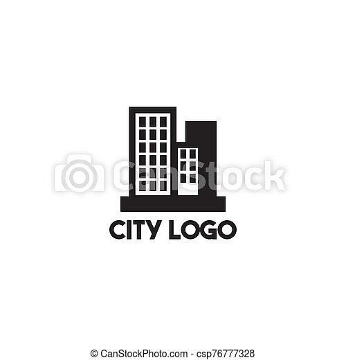 City Building Icon Logo Design Vector Template City Building Icon Logo Design Inspiration Vector Template