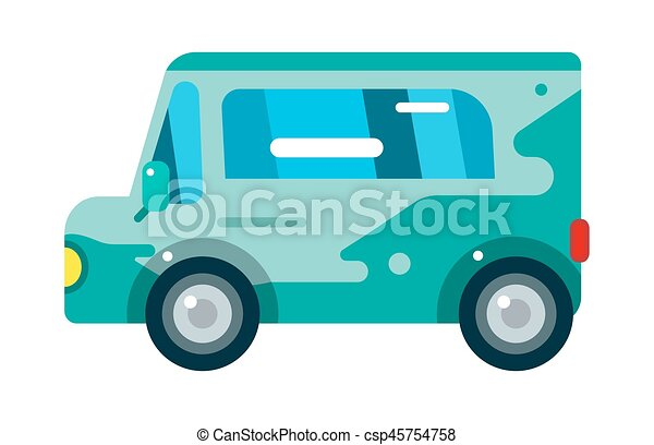 City Bus Vector Illustration Isolated Road Transport Vehicle Travel  Transportation Tourism Passenger