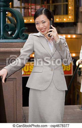 City Business Woman - csp4678377