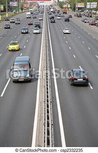 city cars traffic - csp2332235