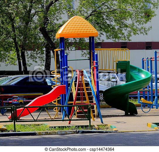 city children's Playground - csp14474364