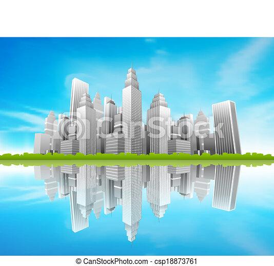City - csp18873761