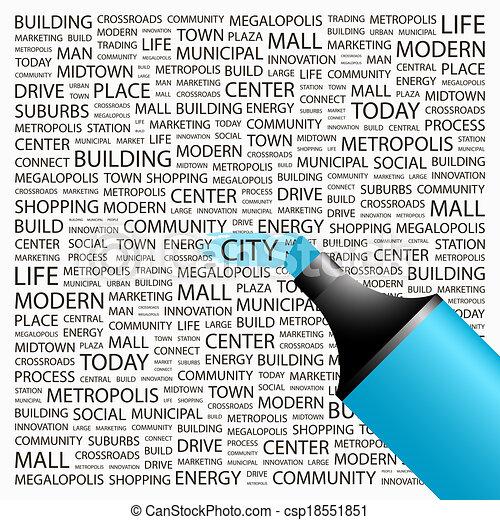 CITY. - csp18551851