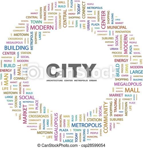 CITY. - csp28599054