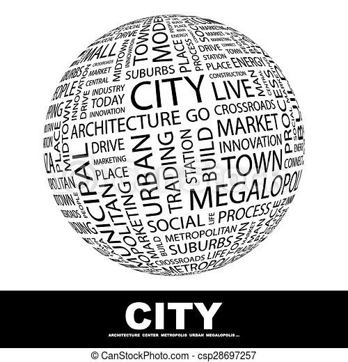 Ciudad. - csp28697257